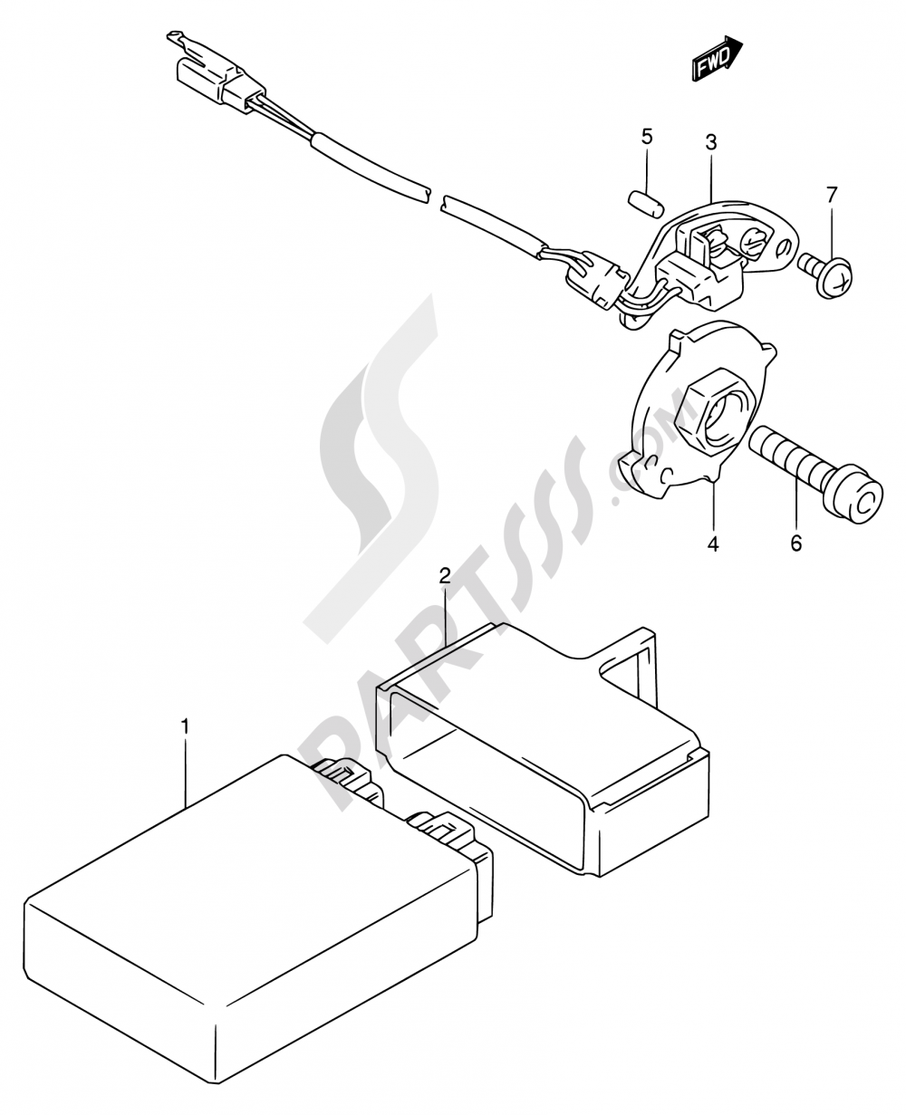 25 Signal Generator Model R S Suzuki Rf900r 1995 Wiring Diagram