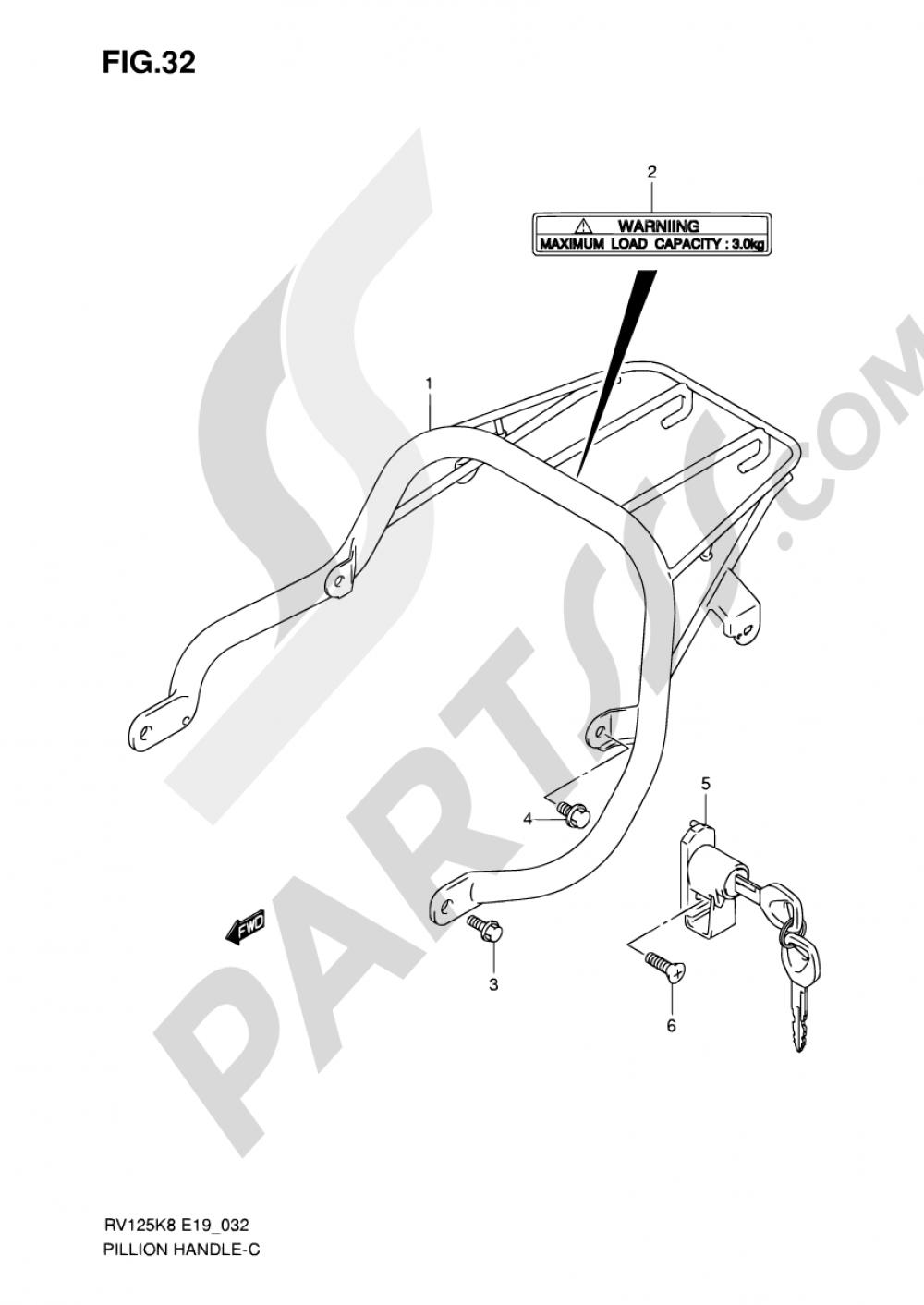32 Carrier Suzuki Van Rv125 2012 Rv 125 Wiring Diagram