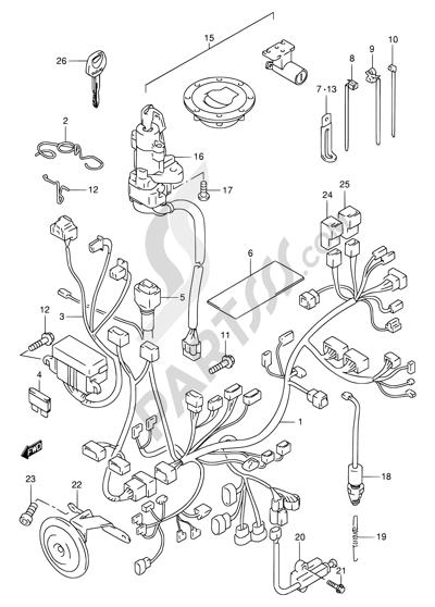 DIAGRAM] Suzuki Tl1000s Wiring Diagram FULL Version HD ... on