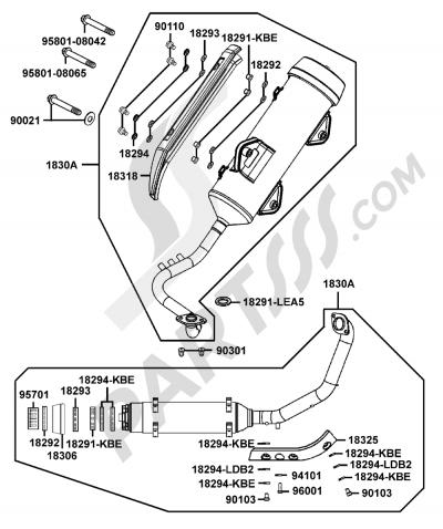 Kymco GRAND-DINK 125 SH25DU 105