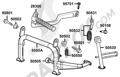 Kymco GRAND-DINK 125 SH25DU 107