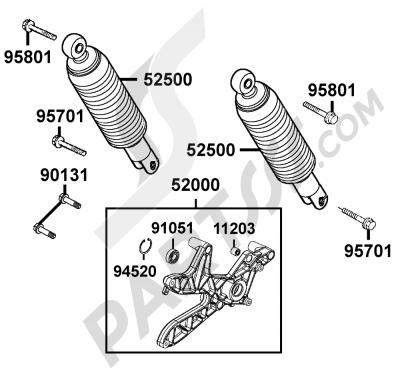 Kymco GRAND-DINK 125 SH25DU 109