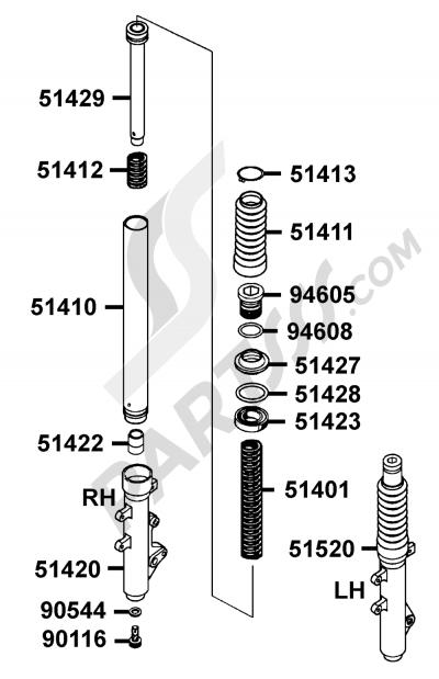 Kymco GRAND-DINK 125 SH25DU 129