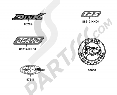 Kymco GRAND-DINK 125 SH25DU 135