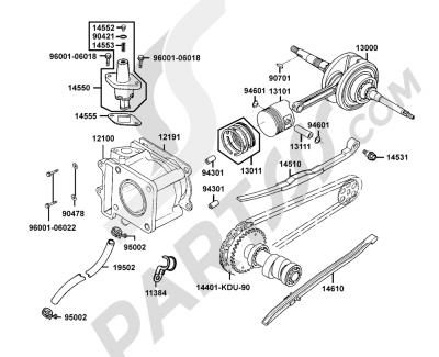 Kymco GRAND-DINK 125 SH25DU 29