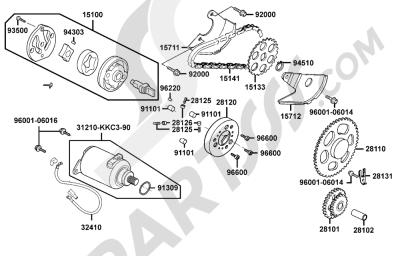 Kymco GRAND-DINK 125 SH25DU 41