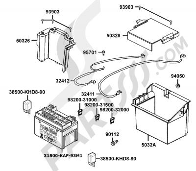 Kymco GRAND-DINK 125 SH25DU 93