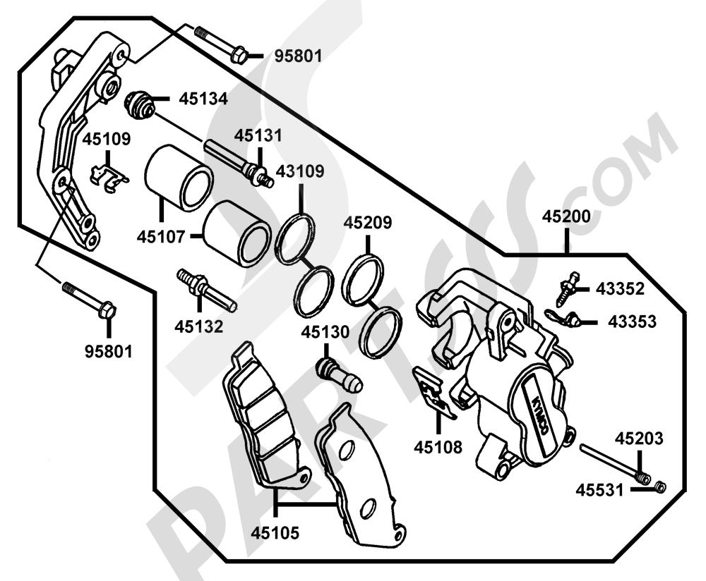 95 Kymco Venox 250 Ra50ac Engine Diagram