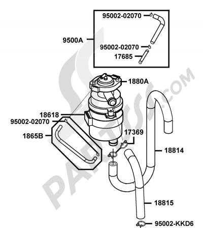 Kymco VENOX-250 RA50AC 00155