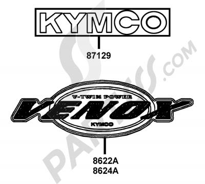 Kymco VENOX-250 RA50AC 00159