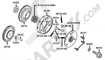 Kymco VENOX-250 RA50AC 00035
