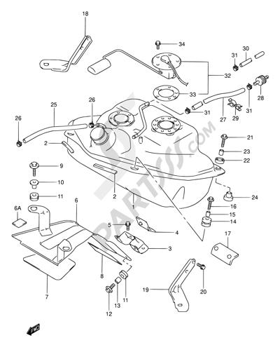 2003 Suzuki Intruder 1500 Wiring Diagram