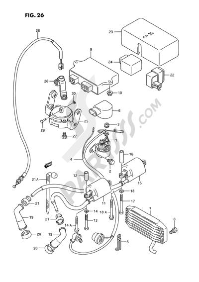 Suzuki Vs1400glp 1992 Dissassembly Sheet Purchase Genuine Spare