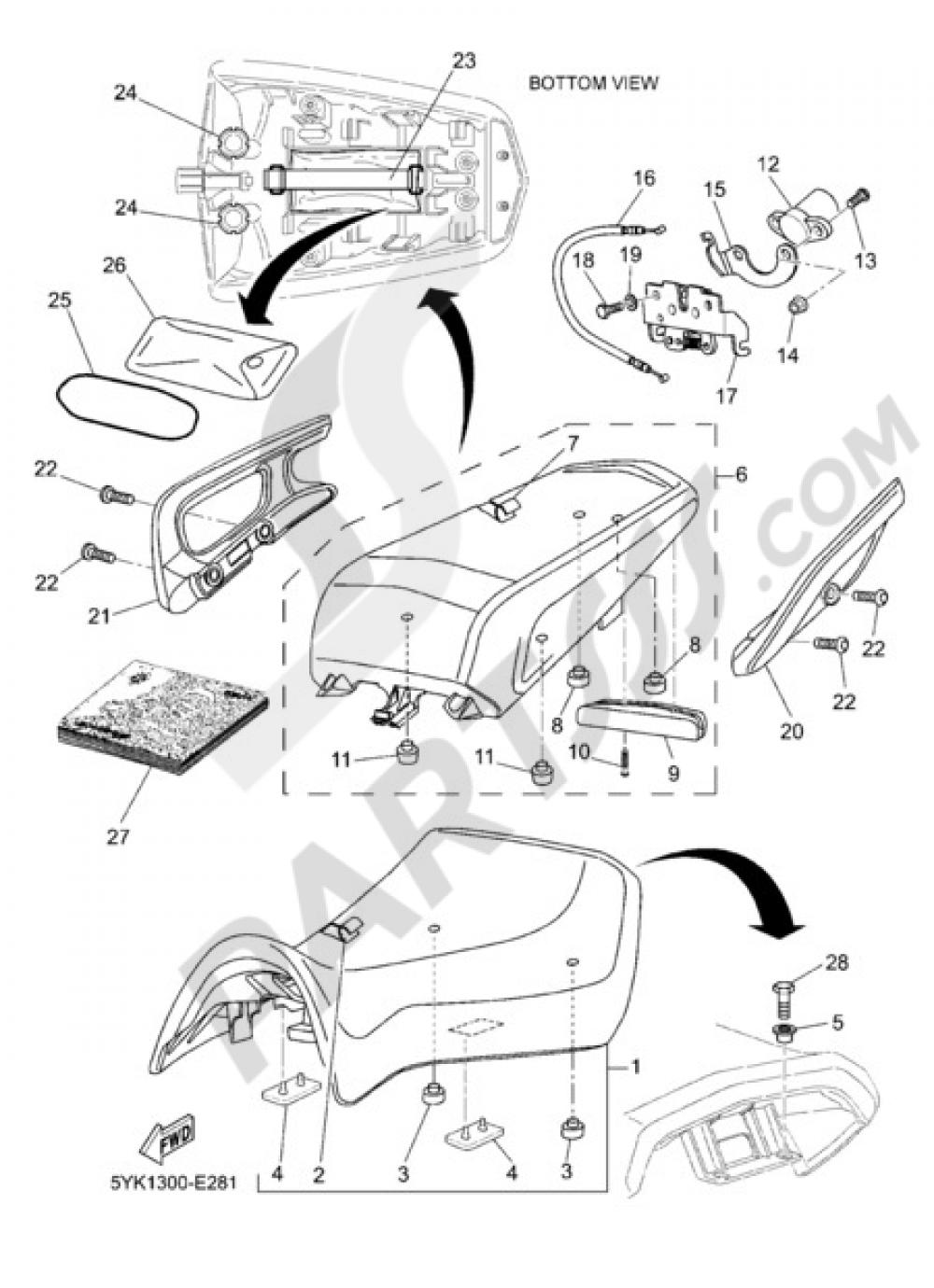 SEAT Yamaha MT-03 2007