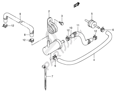 2008 Suzuki Xl7 Exhaust Diagram