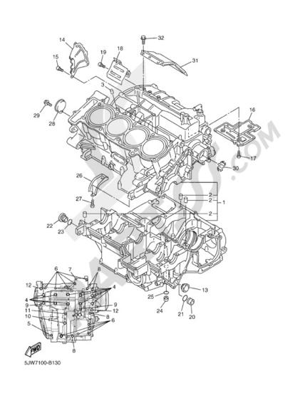Yamaha FJR1300A 2005 CARTER
