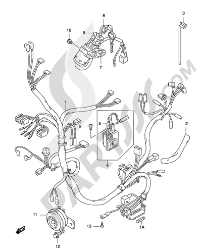 aprilia sr 50 wiring diagram despiece suzuki katana ay50 2004 | repuestos originales ... suzuki ay 50 wiring diagram