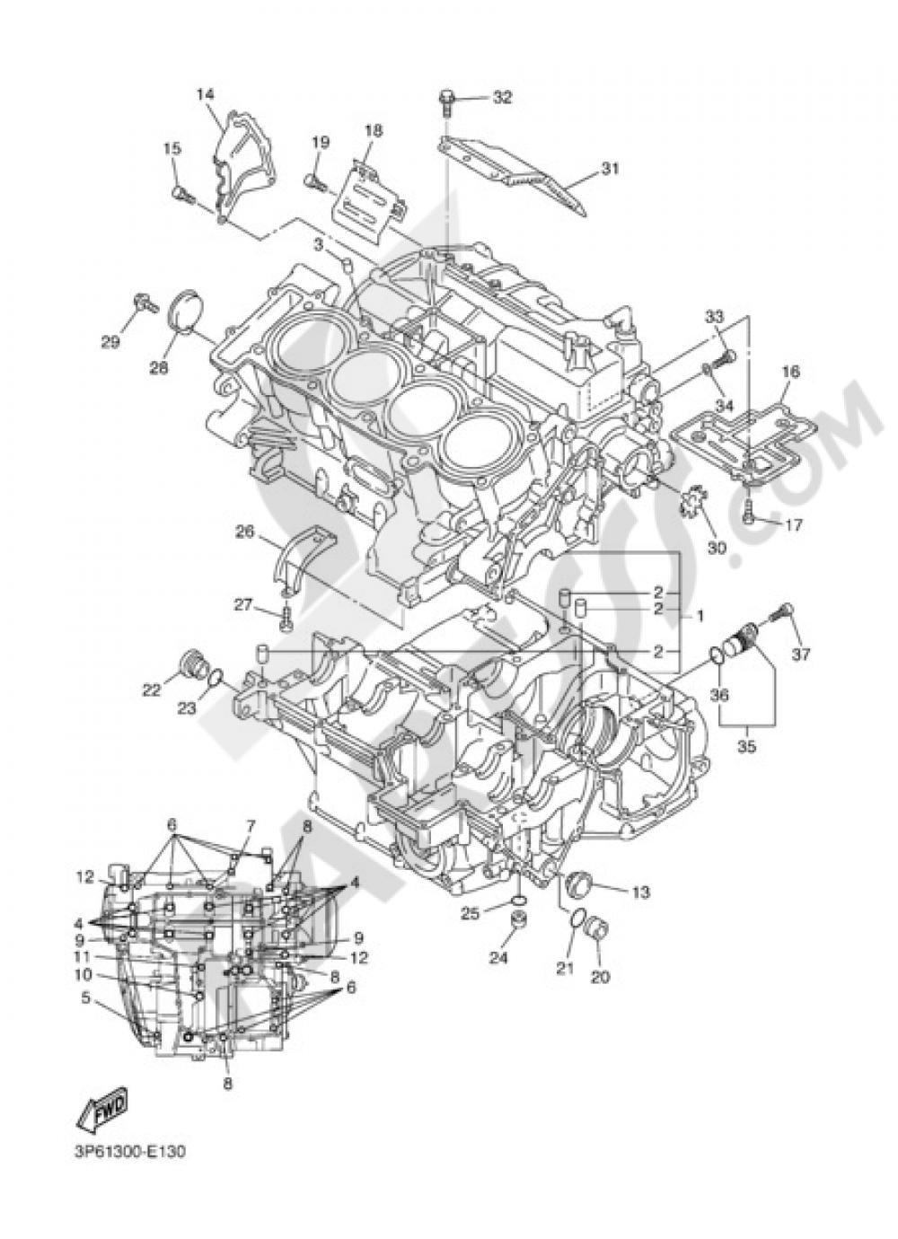 CARTER Yamaha FJR1300A 2006