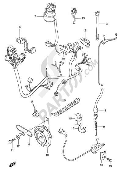 Suzuki Gn 125 Wiring Diagram