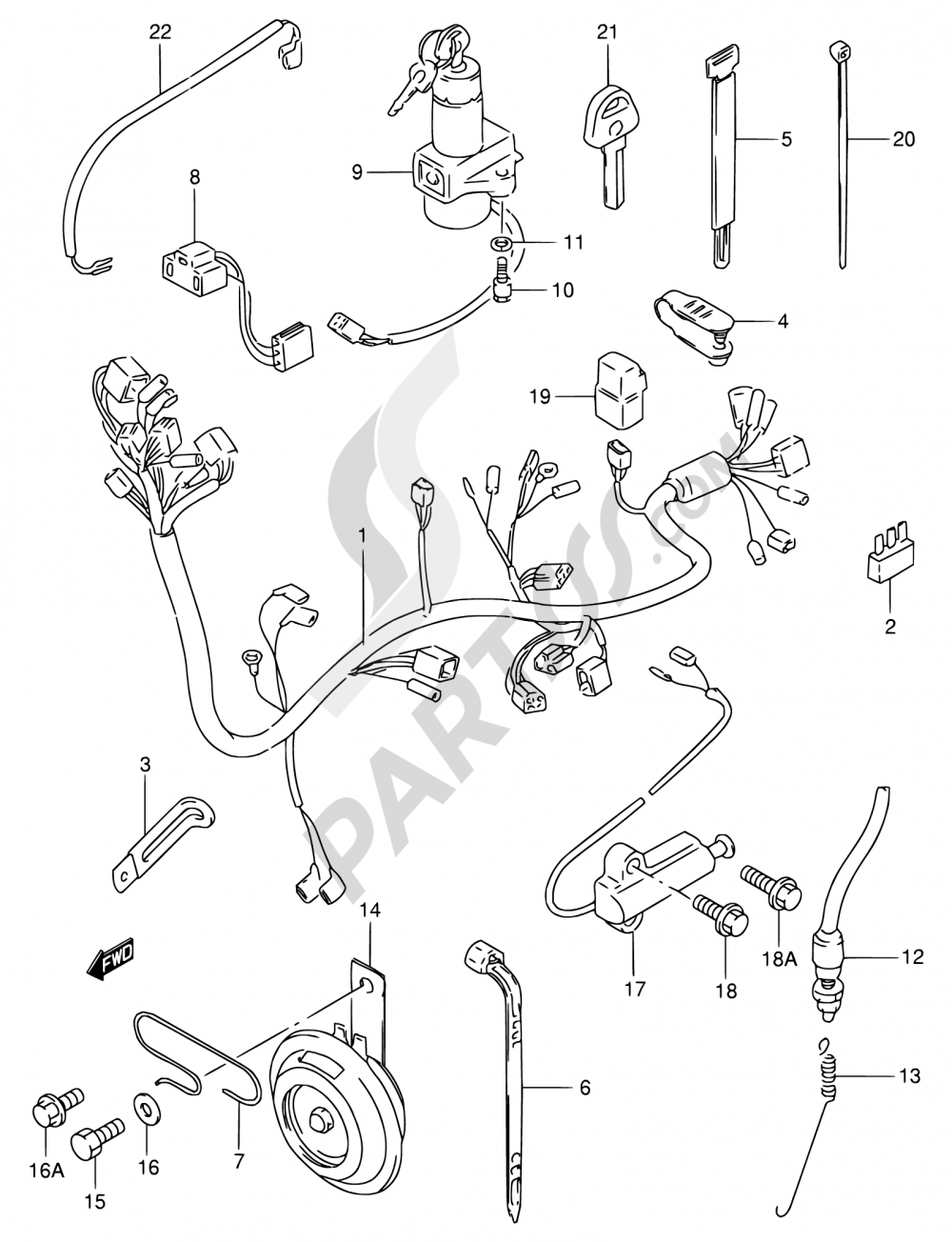 Gn250 Wiring Harness Electrical Diagrams Suzuki Gn 250 Diagram Engine 30 1985 1987 Toyota