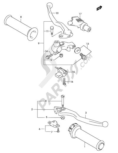 Suzuki Marauder Gz250 2002 Dissassembly Sheet Purchase Genuine
