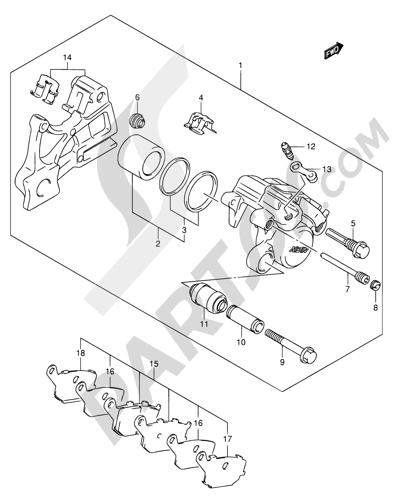 Suzuki Sv650 2003 Dissassembly Sheet Purchase Genuine Spare Parts