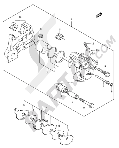 Suzuki Sv650 2007 Dissassembly Sheet Purchase Genuine Spare Parts