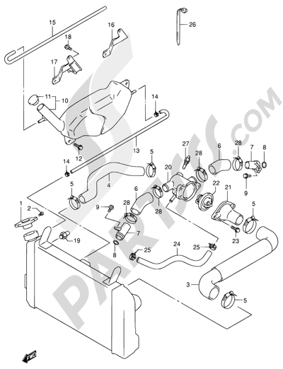 Suzuki Sv650 2000 Dissassembly Sheet Purchase Genuine Spare Parts