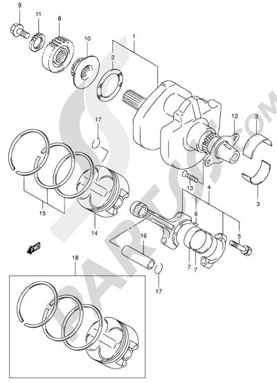 Suzuki Sv650 2000 Dissassembly Sheet Purchase Genuine Spare Parts