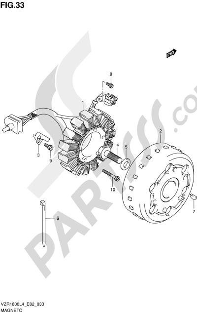 Suzuki VZR1800 2014 33 - MAGNETO
