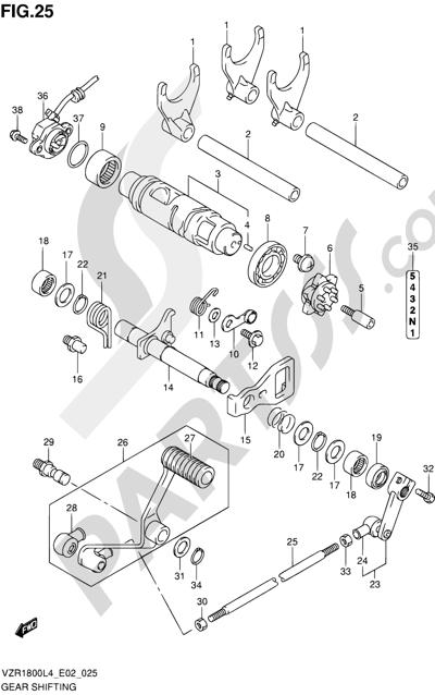Suzuki VZR1800 2014 25 - GEAR SHIFTING