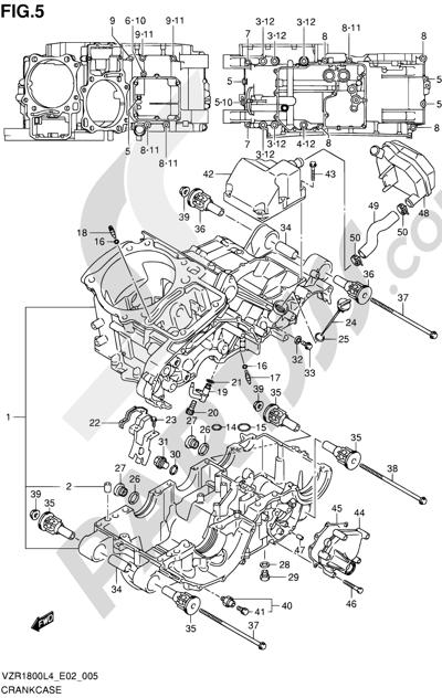 Suzuki VZR1800 2014 5 - CRANKCASE