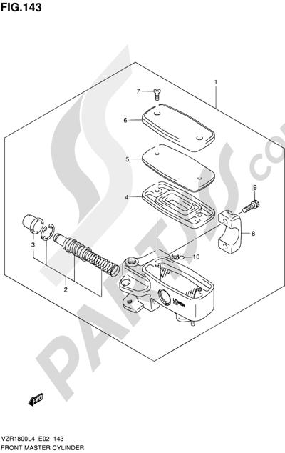 Suzuki VZR1800 2014 143 - FRONT MASTER CYLINDER (VZR1800L4 E02)