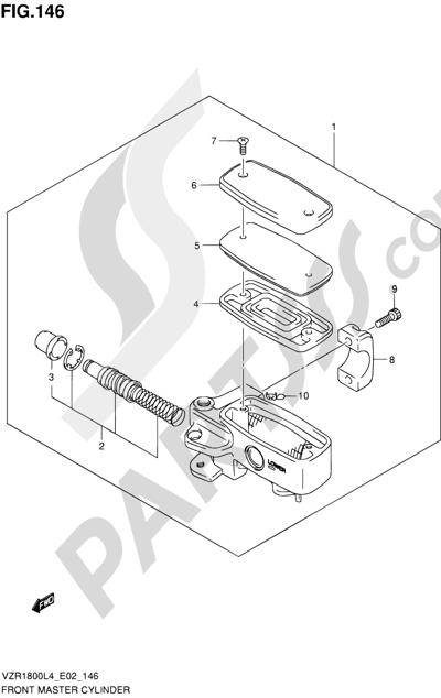 Suzuki VZR1800 2014 146 - FRONT MASTER CYLINDER (VZR1800ZL4 E02)