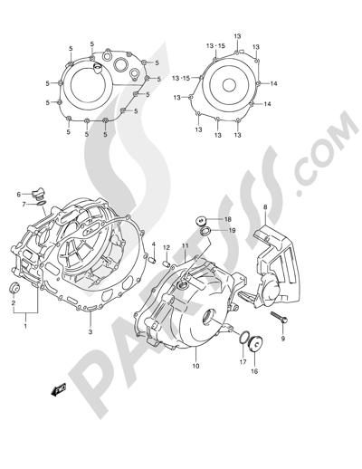 Suzuki Vstrom Dl650 2004 Dissassembly Sheet Purchase Genuine Spare