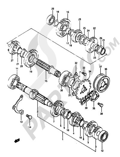 Dr 650 Engine