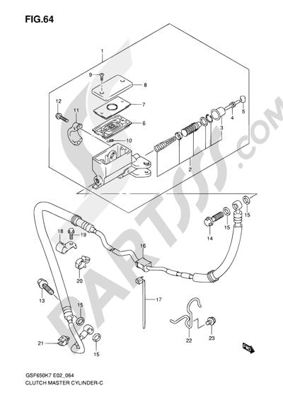 Suzuki Bandit Wiring Diagram