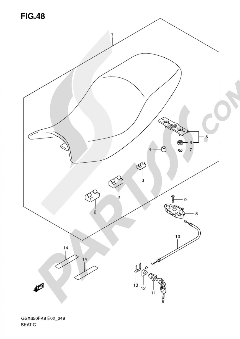 2008 Gsx650f Wiring Diagram Expert Schematics Suzuki Hayabusa 48 Seat California