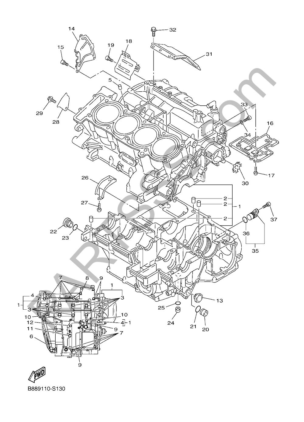 CARTER Yamaha FJR1300A 2018