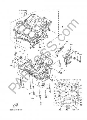 Yamaha MT-09 Tracer 2017 CARTER