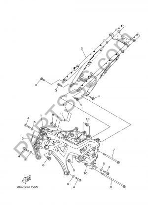 Yamaha MT-09 Tracer 2017 CUADRO