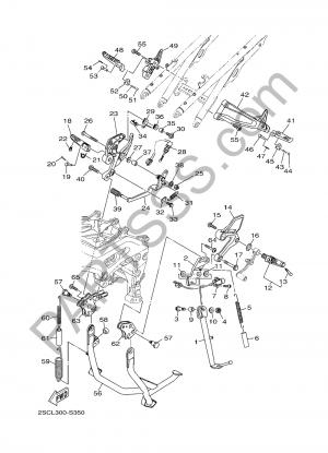 Yamaha MT-09 Tracer 2017 SOPORTE & APOYAPIE
