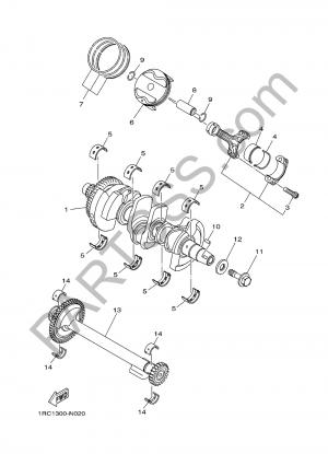 Yamaha MT-09 Tracer 2017 CIGUENAL & PISTON