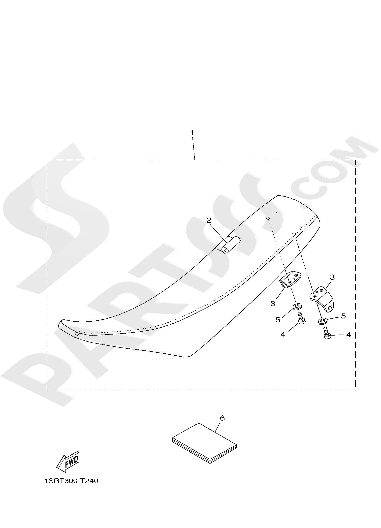 Yamaha YZ250 2019 SEAT