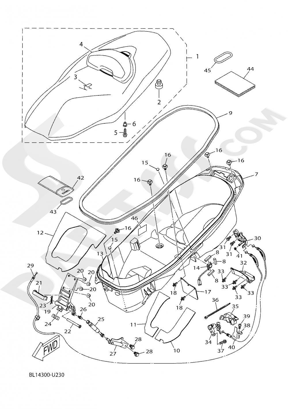 SEAT Yamaha XMAX 400 TECH MAX 2020