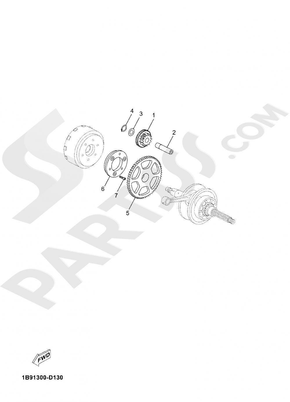 STARTER Yamaha X-Max 125 ABS 2020