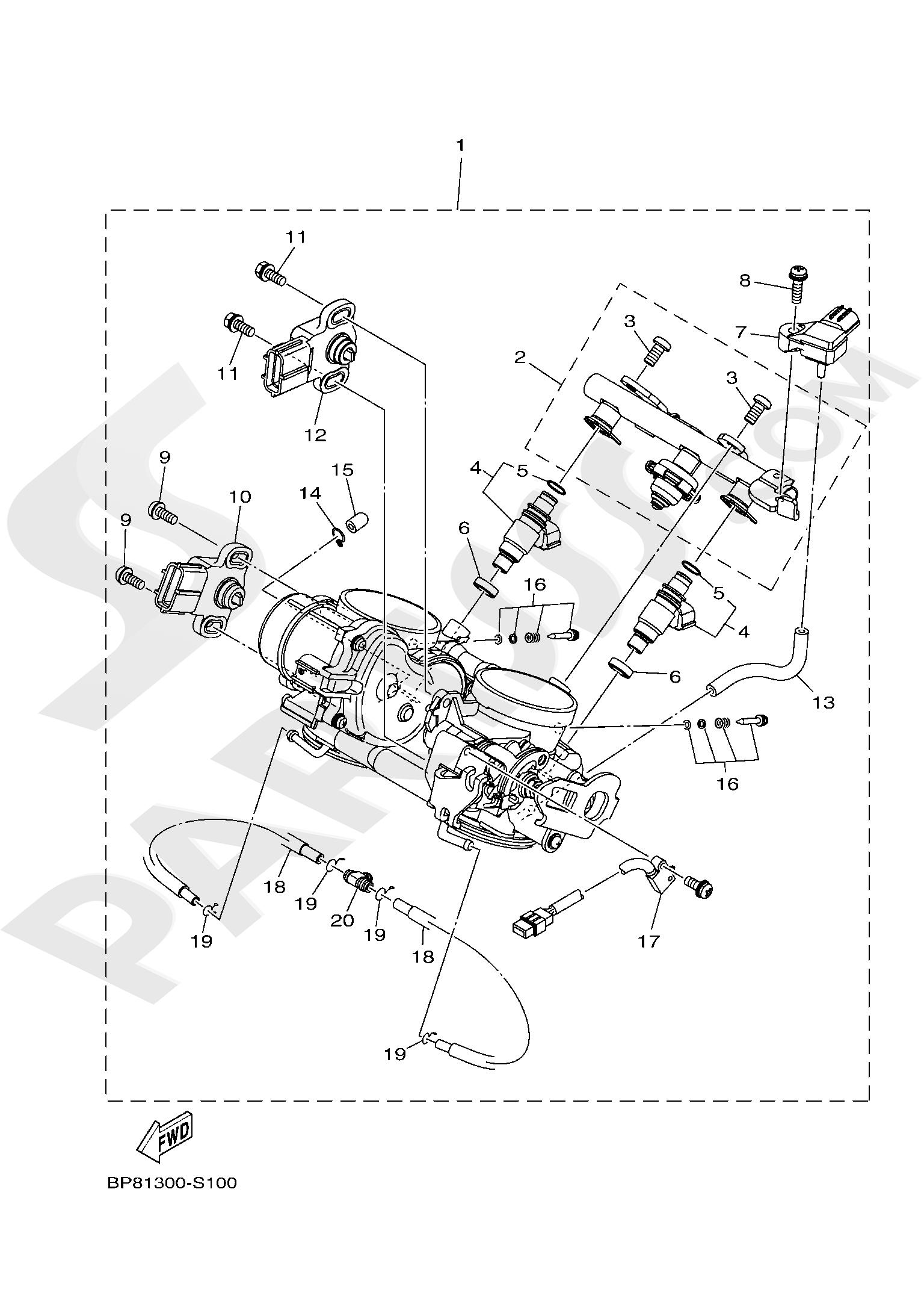Yamaha XT1200ZE SuperTenere 2019 INTAKE 2