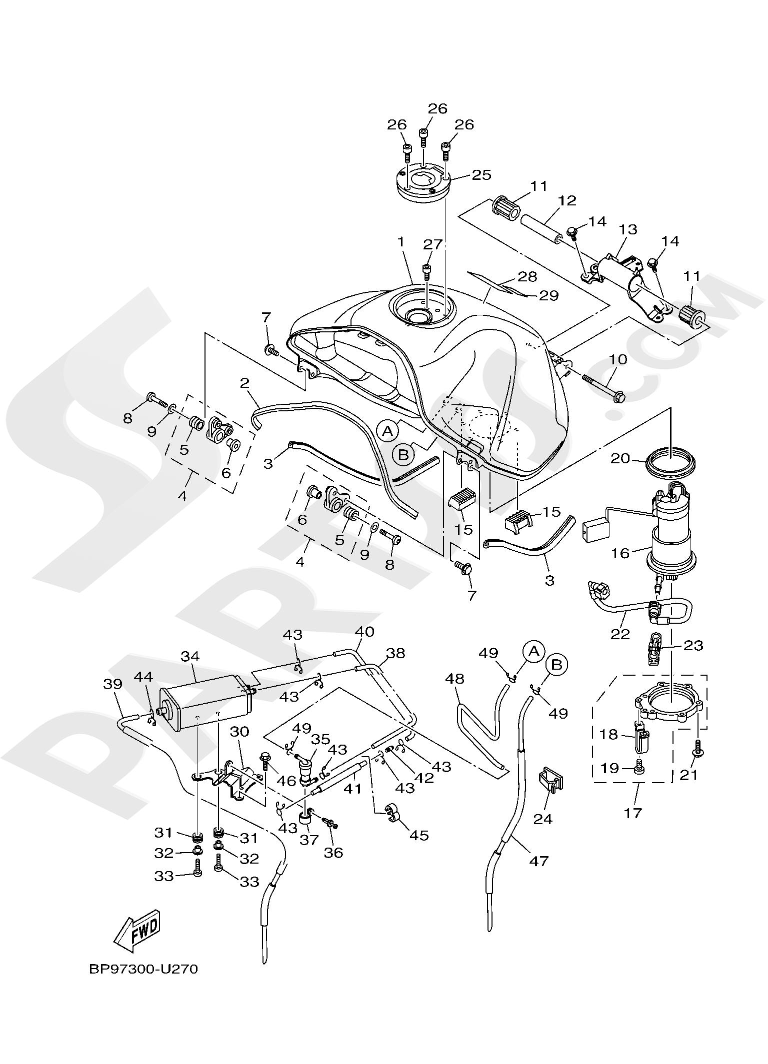 Yamaha XT1200ZE SuperTenere 2019 FUEL