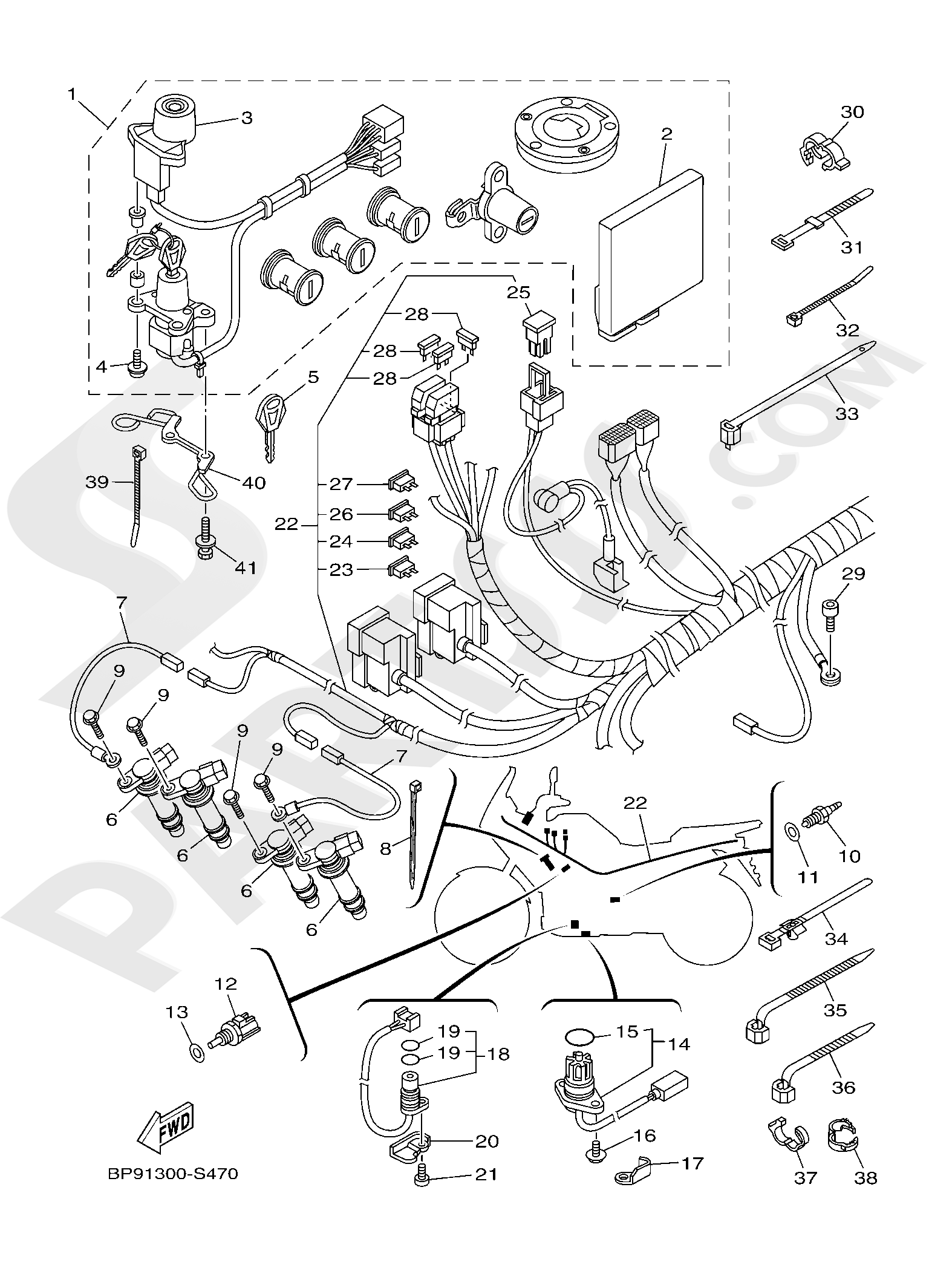 Yamaha XT1200ZE SuperTenere 2019 ELECTRICAL 1