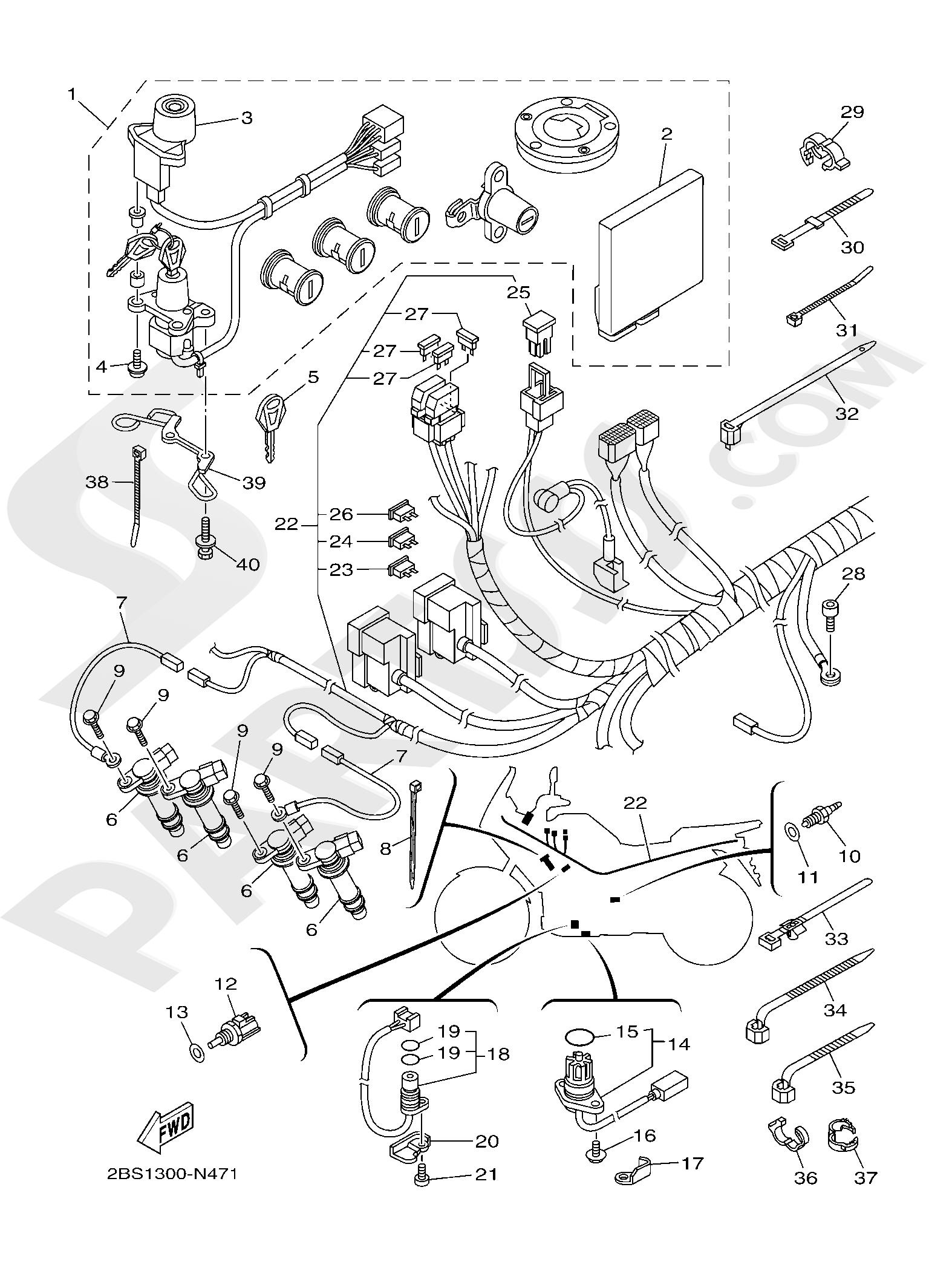 Yamaha XT1200Z SuperTenere 2019 ELECTRICAL 1